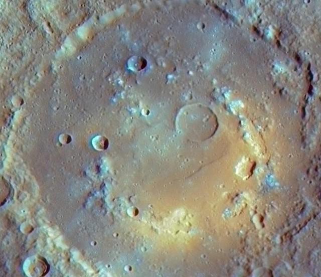 кратер Praxiteles