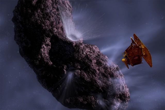 Встреча космического аппарата с кометой
